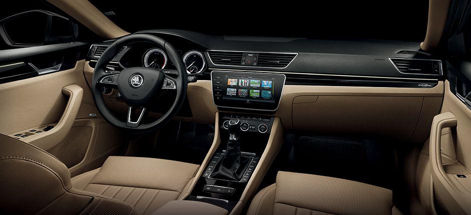 The Luxury Interior Of The New Skoda Superb And Skoda Superb Combi