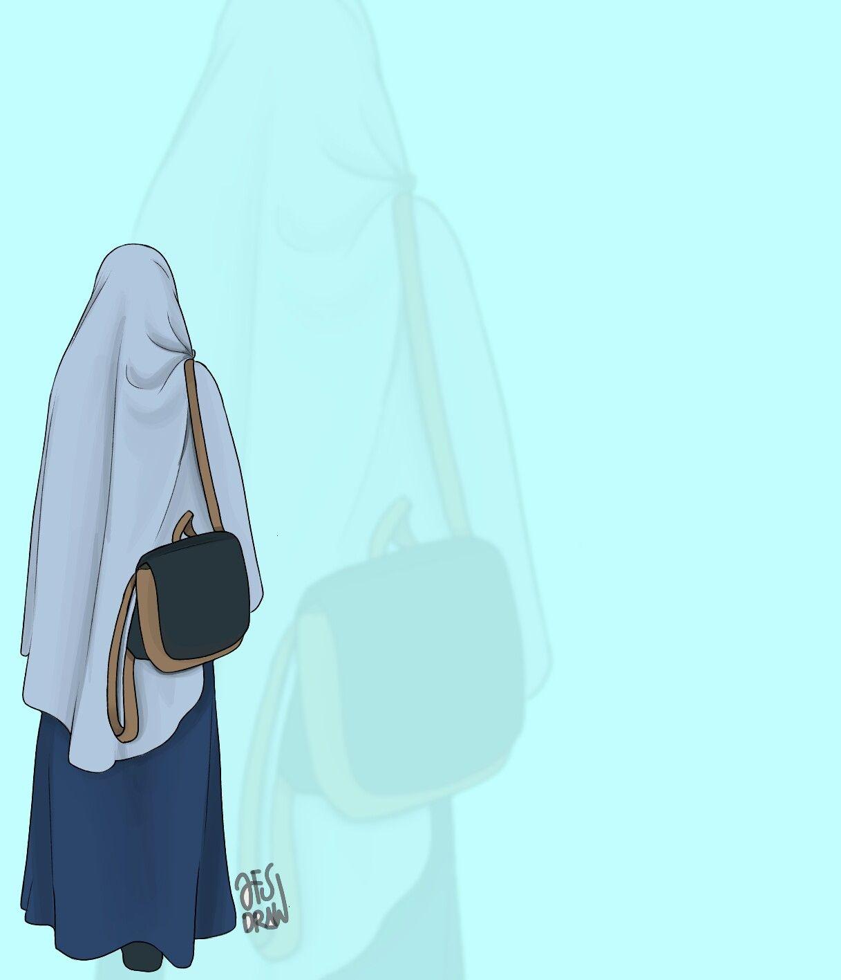 Tak Perlu Menjadi Tercantik Dari Sekian Banyak Wanita Cantik Cukup Jadi Wanita Yang Taat Agama Dan Menjaga Sikap Itu Sudah Lebih D Kartun Gambar Seni Islamis