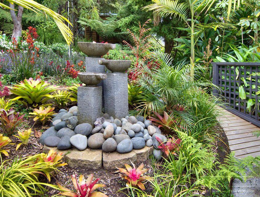 Waitikere City, New Zealand   Asian garden, Tropical ...