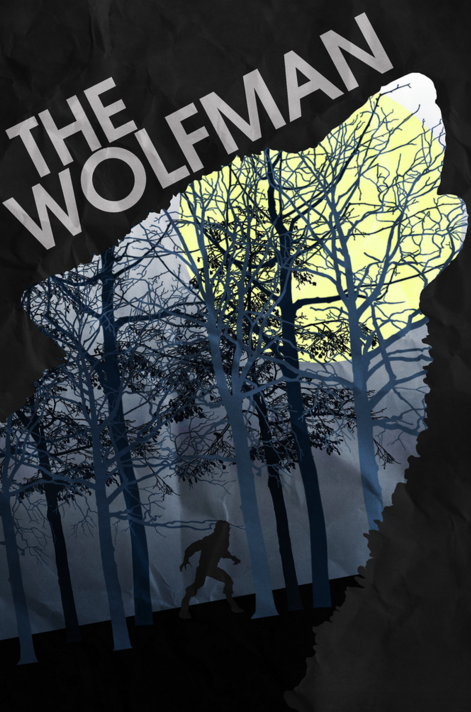 The Wolfman (2010) ~ Minimal Movie Poster by Christian Frarey #amusementphile