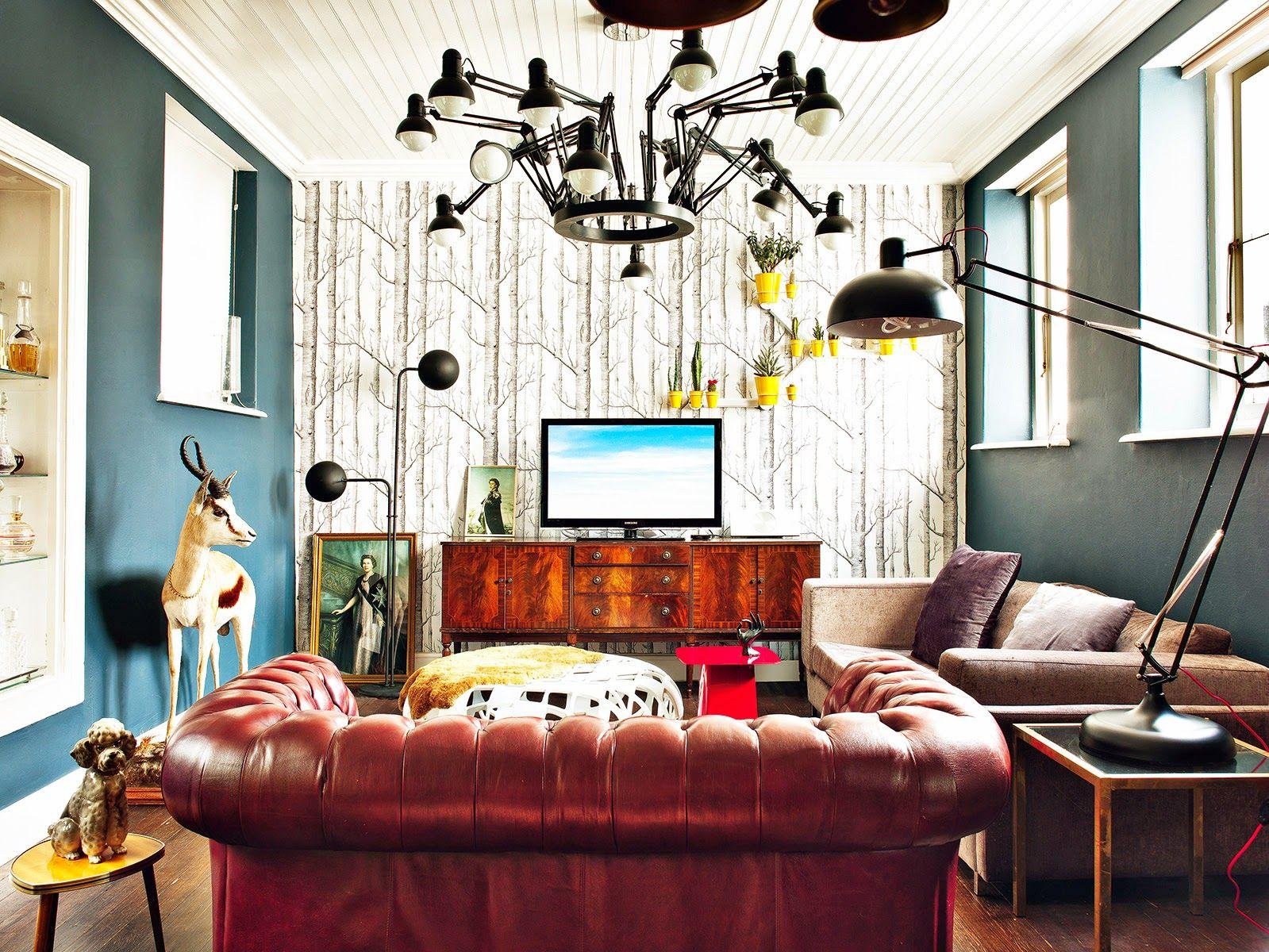 A casa eclética de Etienne Hanekom