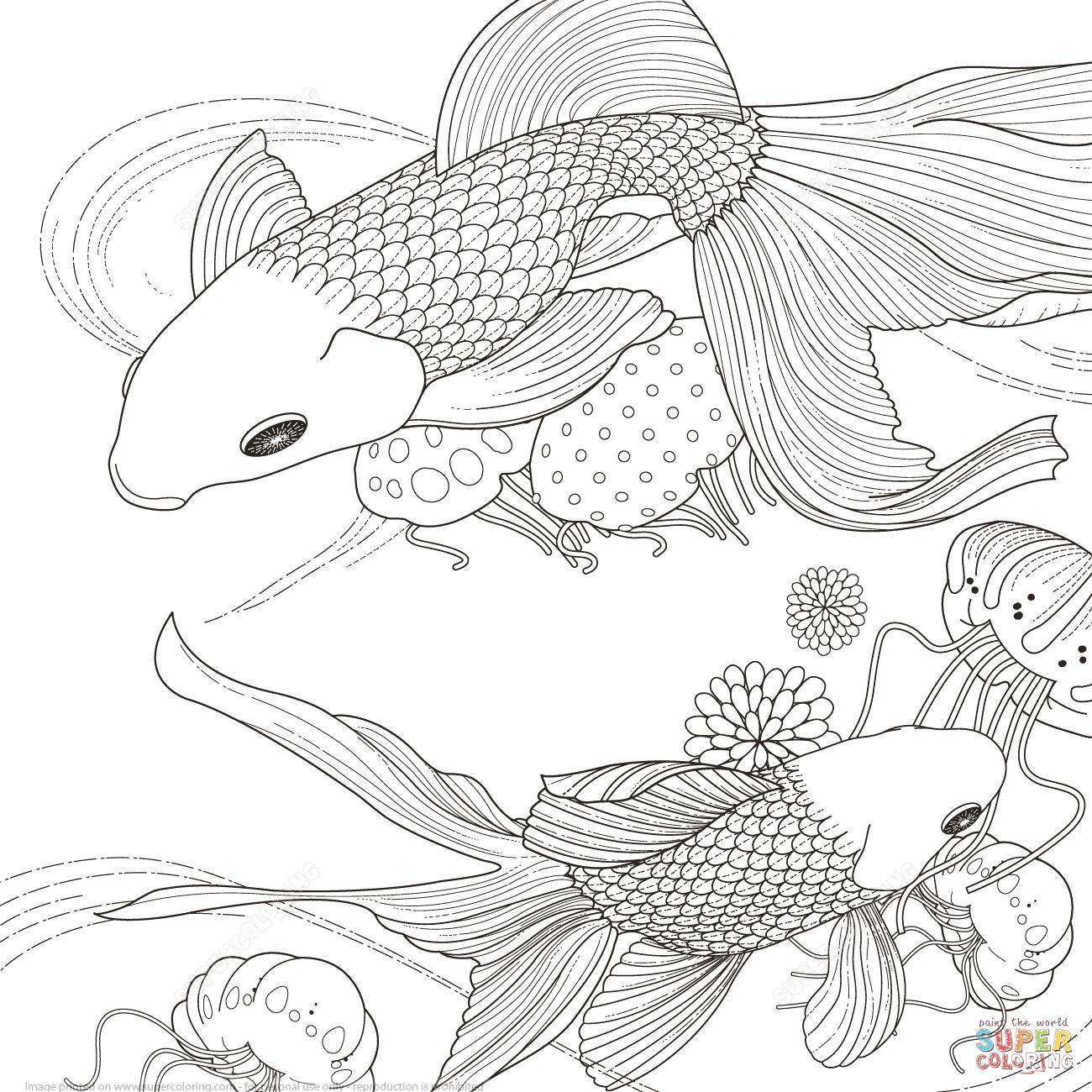 Pesce Dorato Super Coloring Vogel Malvorlagen Kostenlose Erwachsenen Malvorlagen Malvorlagen Tiere