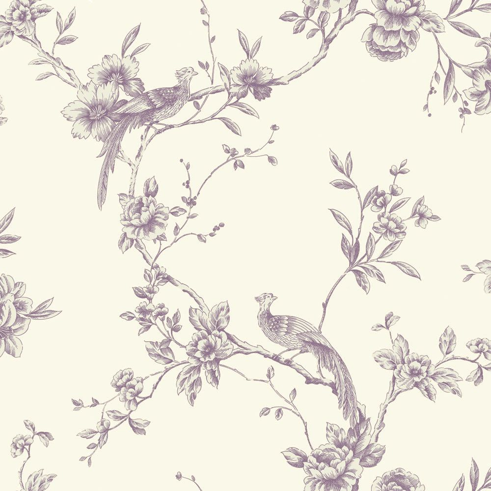 Chinoise Plum Wallpaper By Arthouse Feature Wall Wallpaper Teal