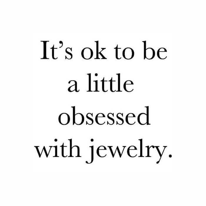Obsessed with jewelry ohsohip Winkelen citaten, Teksten