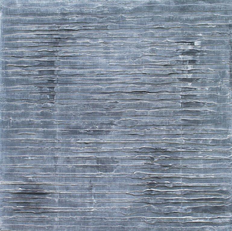"""Saatchi Online Artist: Paul Van Rij; Oil, 2011, Painting """"Structures 8"""""""