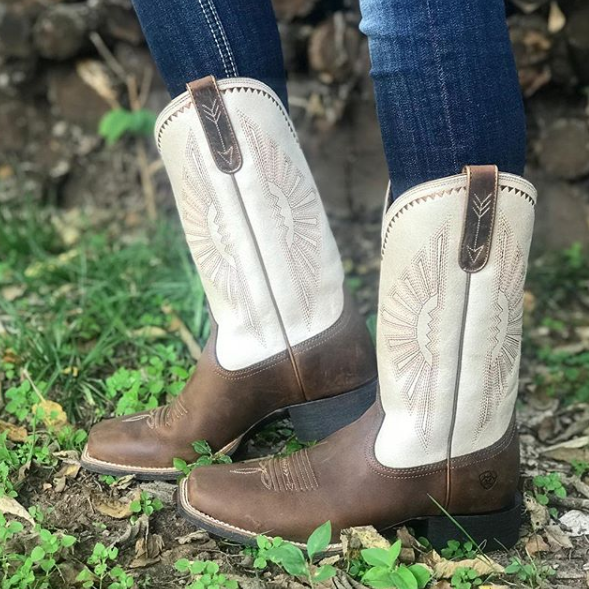 2fa5db14bbe Ariat Womens Round Up Rio Cowboy Boots 10025036 | Cowboy Boots for ...