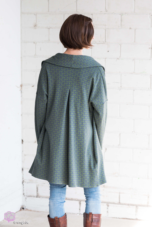 NEU! Mantel Frau KATI #tunicdesigns
