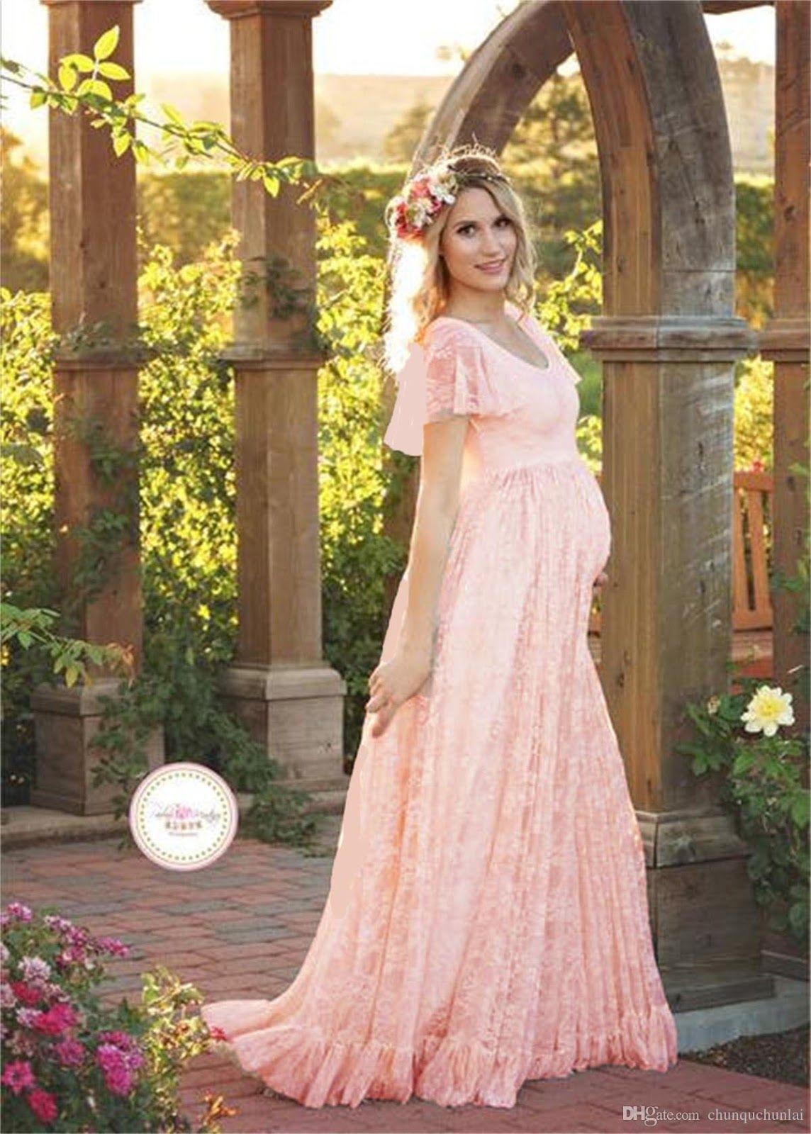 Vestidos de fiesta para embarazadas 2019