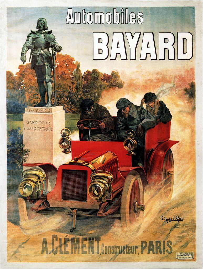Frederic Hugo d'Alesi. Bayard Cars