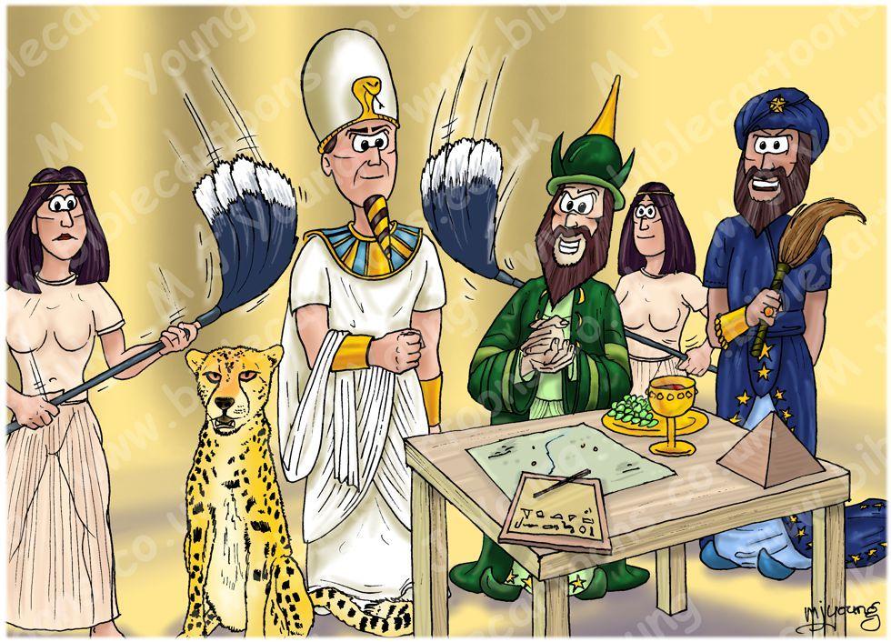Éxodo 01 - Hebreos oprimidos: el plan de Faraón: Éxodo 1: 8-10: 8 ...