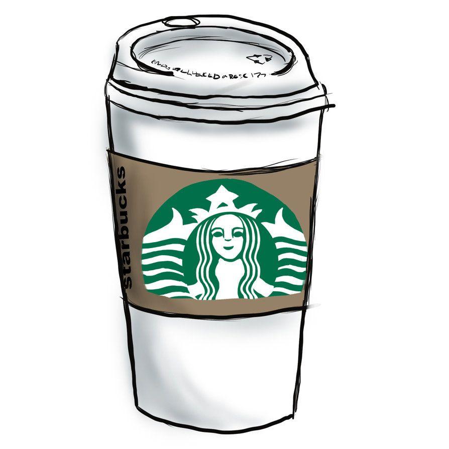 Starbucks Is The Best 3 3 Starbucks Drawing Starbucks