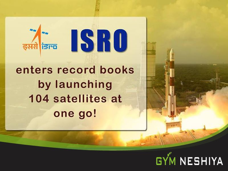 Isro Made A World Record By Launching 104 Pslv Satellites At Sriharikota It S A Proud Moment F Indian Space Research Organisation Astrophysics Space Science
