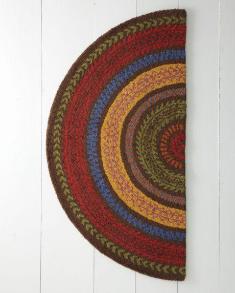 Garnet Hill Fair Isle Hooked Wool Rug | Awesome | Pinterest