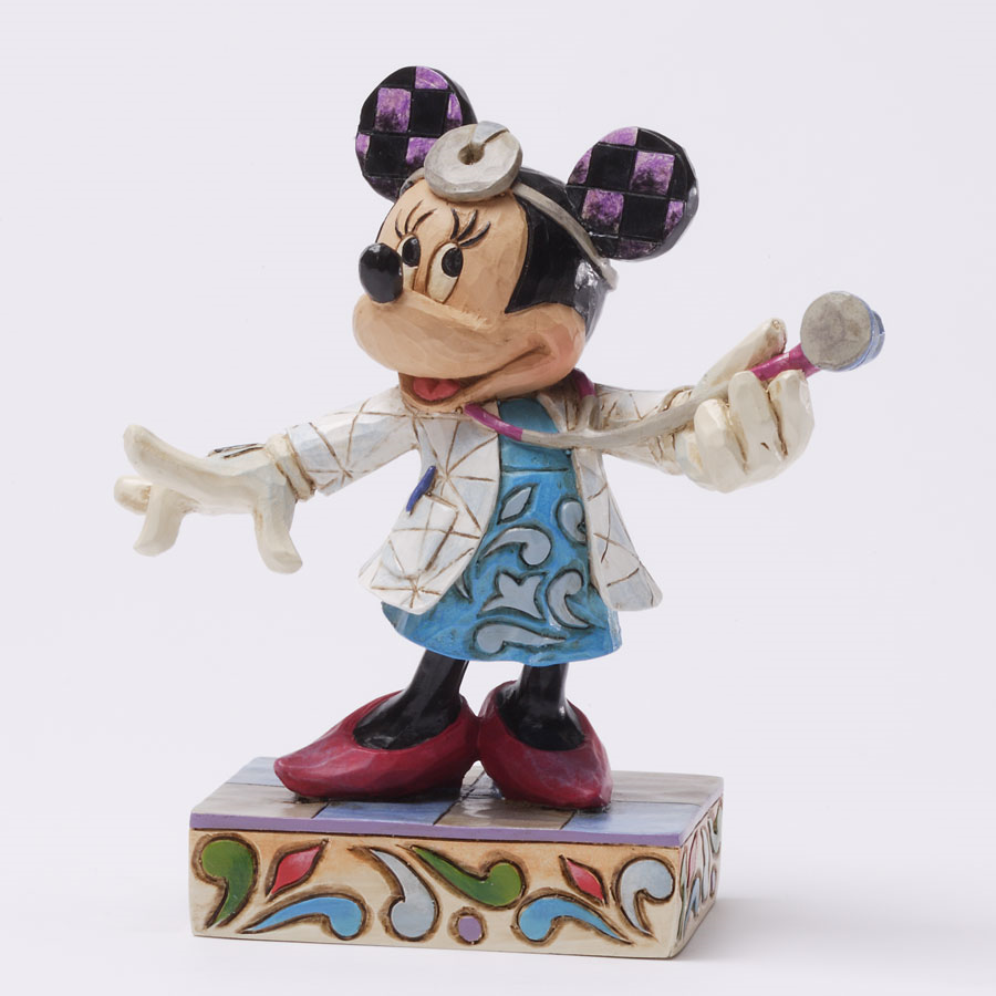 The Collectors Hub - Minnie Mouse Doctor Figurine, $21.50 (http://www.thecollectorshub.com/minnie-mouse-doctor-figurine/)