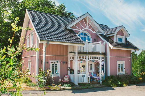 Das Rosa Haus Von Cute Cottage Overload Rosa Hauser Susse Hutte Architektur Haus