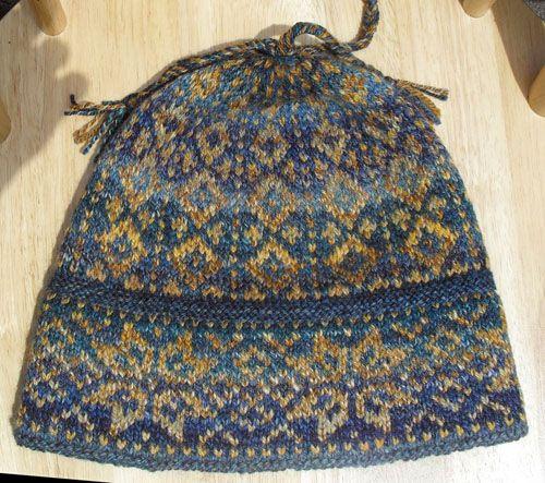 Handspun Cross-Country Ski Hat