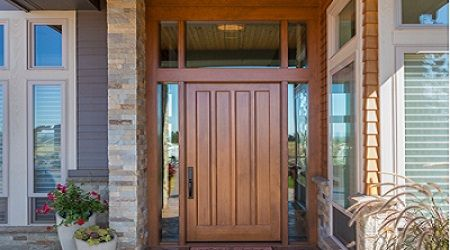 The Flush doors are the doors that develops an interlink between the internal parts of the house that allows for ventilation and passage of light. It also aids in building up security and privacy in the house. Since they are used to develop interlinks they possess a plain surface on both sides of construction. These doors are most common in use for residential and construction purposes.