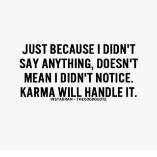 Bad karma quotes tumblr