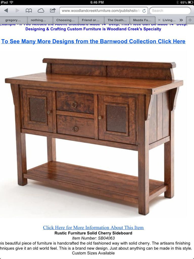 Elegant Woodland Creek Furniture Http://www.woodlandcreekfurniture.com