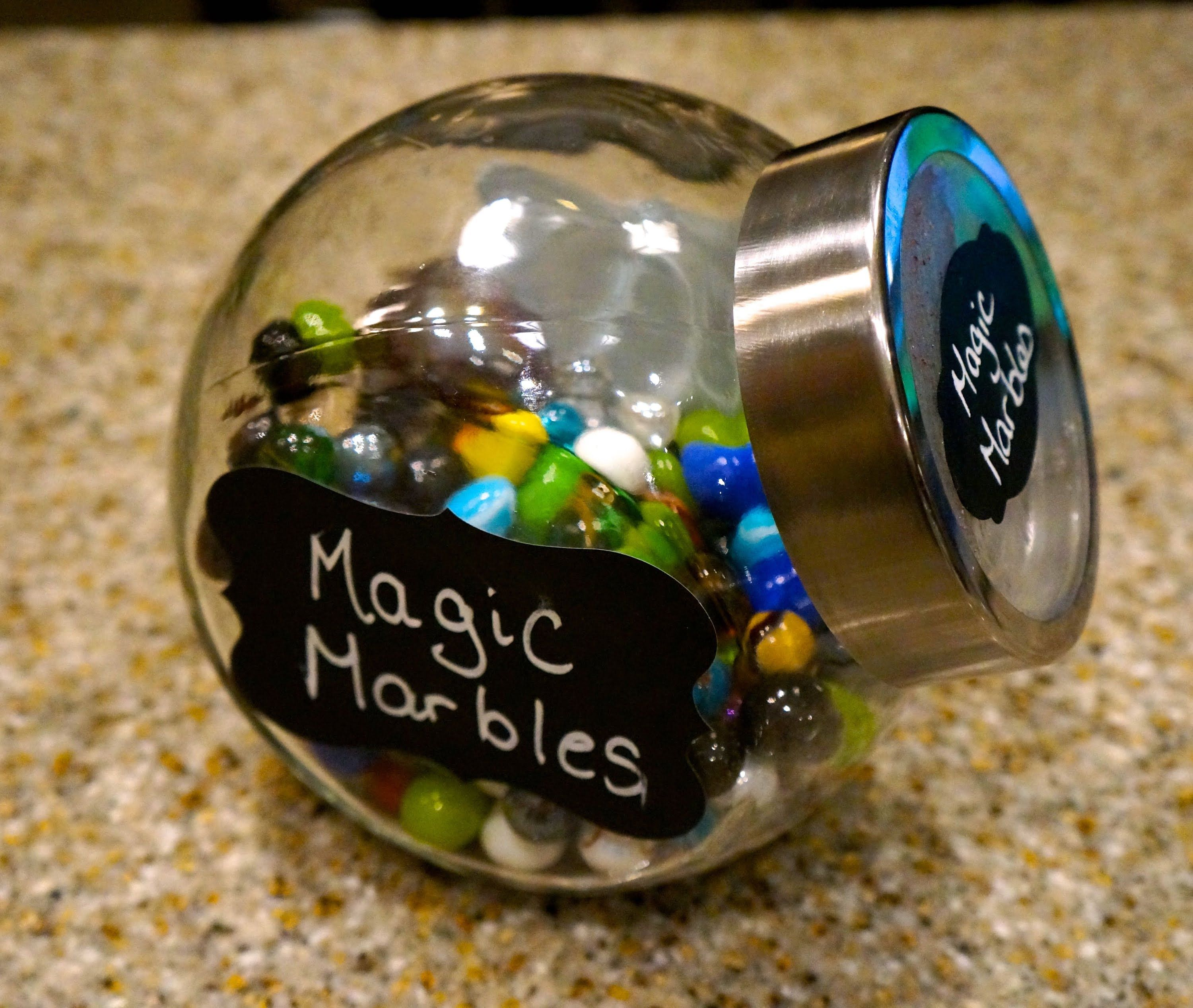 How to Motivate and Reward Children with Magic Marbles