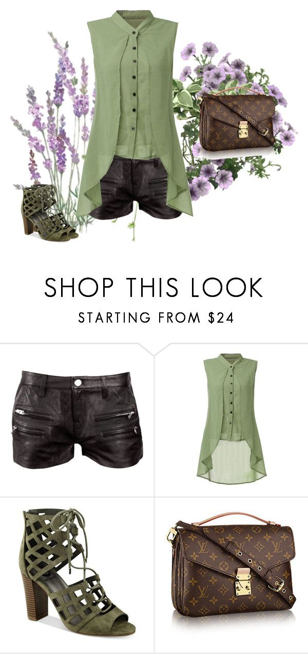 """""""Pop Of Green."""" by linhluvsfashion ❤ liked on Polyvore featuring IRO and G by Guess"""