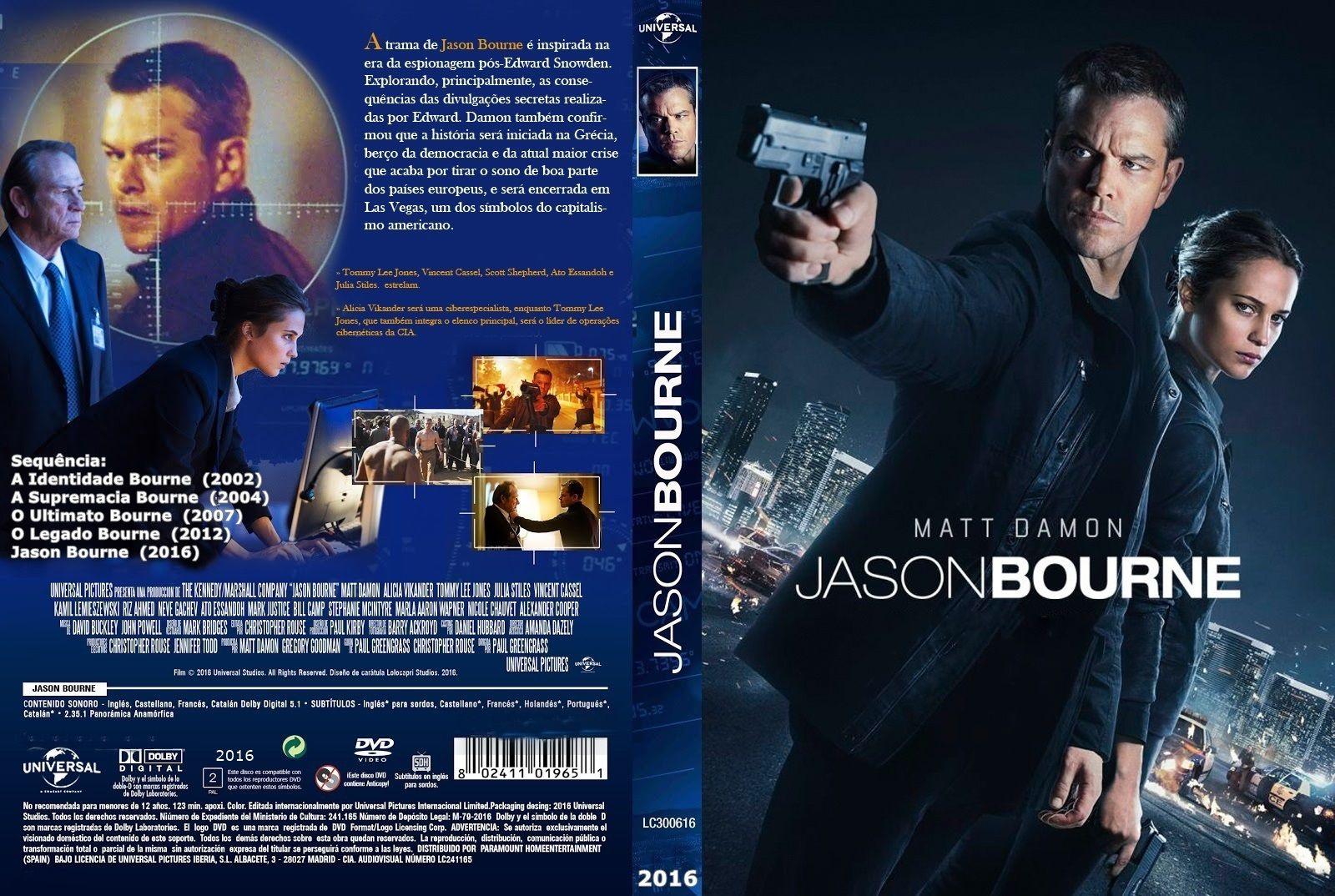 Jason Bourne 2016 Jason Bourne Jason Bourne 2016 Bourne