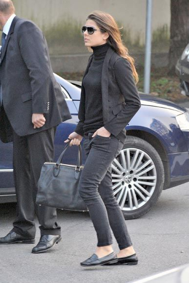 Charlotte Casiraghi. Classic style. Sometimes you have to believe it's in a persons genes.