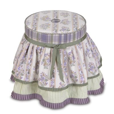 Eastern Accents Lily Vanity Footstool