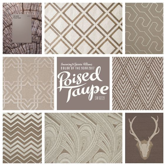 Grey Taupe Paint: Poised Taupe… Earthen Brown Combined With Cool Grey
