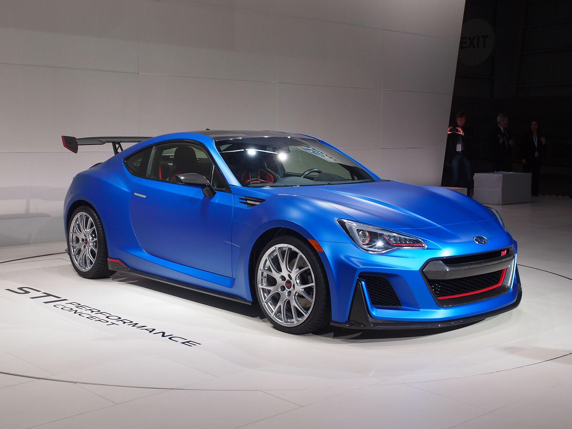 Subaru STI Performance Concept | Subaru brz sti, Subaru ...