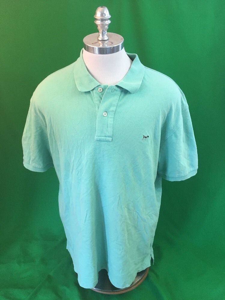 c676c2b944ec Southern Point Co Greyton Casual Golf Polo Shirt Men s Xl Green Cotton Dog  Logo  SouthernPoint  PoloRugby