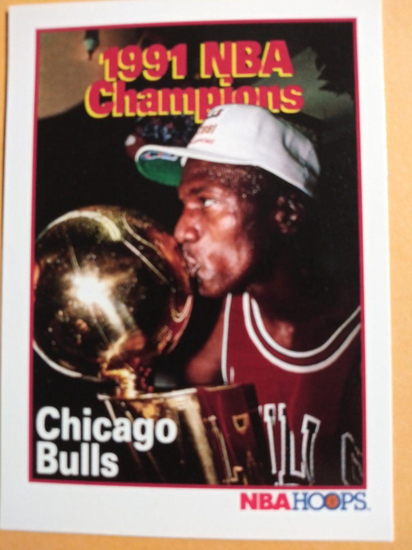 199192 hoops 543 chicago bulls nba champions michael