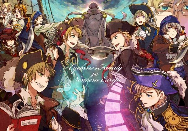 APH England's Allies vs  The Nordics! -- With Russia in the