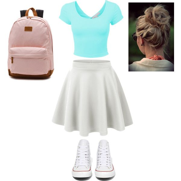 Basic by nmensinger on Polyvore featuring polyvore, fashion, style, Converse and Vans
