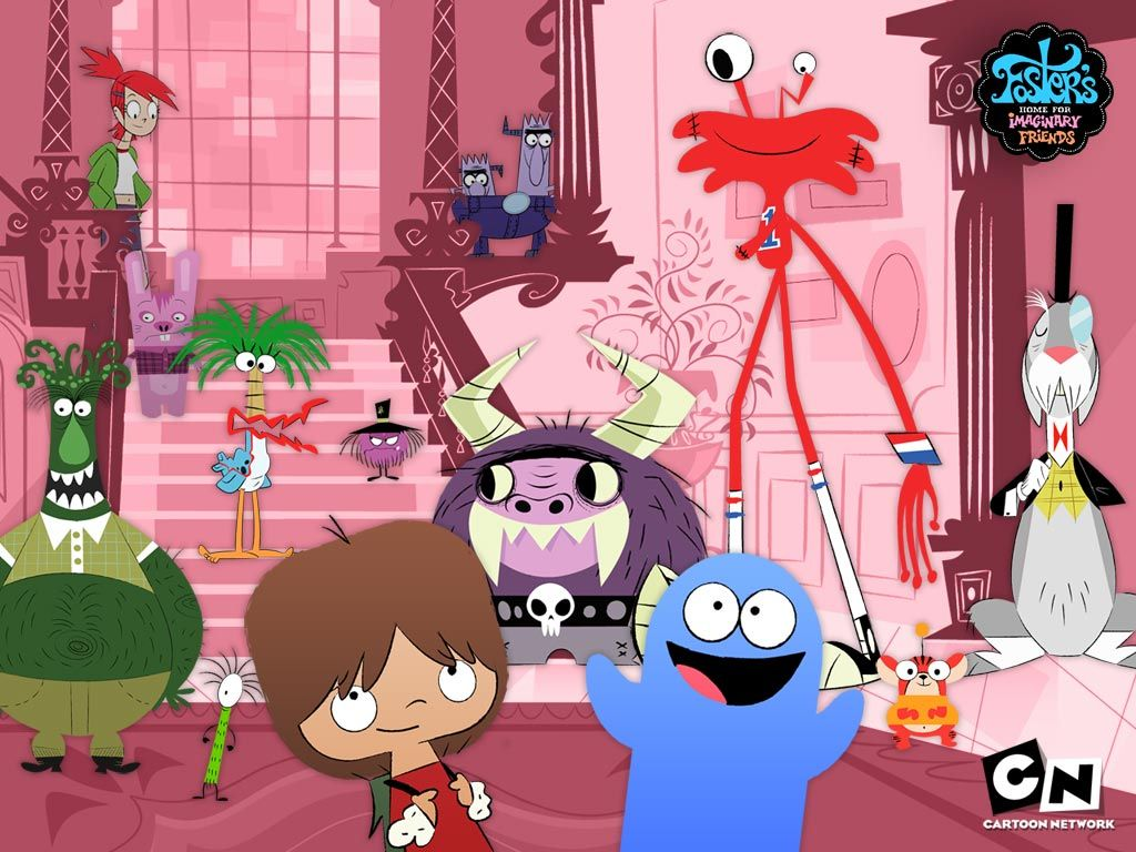 Foster S Home For Imaginary Friends Wallpaper Foster S Foster Home For Imaginary Friends Imaginary Friend Old Cartoon Network