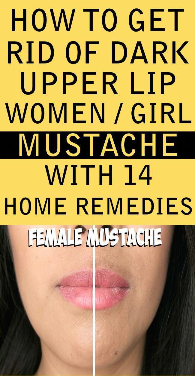 How To Get Rid Of Dark Upper Lip Shadow Or Female Mustache Lighten
