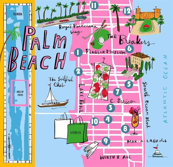 Palm Beach map by Bonnie Dain. i the colors, they're so ... on waxahachie fl map, basinger fl map, atlantic beach fl map, west fl map, omar fl map, greenville fl map, lafayette county fl map, auburn fl map, madison fl map, mckinney fl map, crystal beach fl map, bristol fl map, centerville fl map, augusta fl map, decatur fl map, alma fl map, fargo fl map, georgetown fl map, freeport fl map, emerald beach fl map,