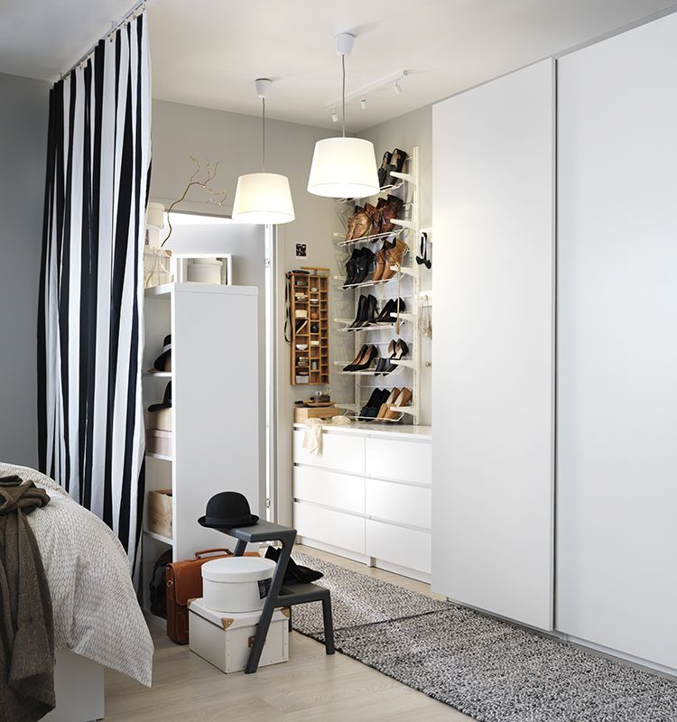 10 conseils pour organiser son garde robe les id es de ma maison photo ikea deco garderobe. Black Bedroom Furniture Sets. Home Design Ideas