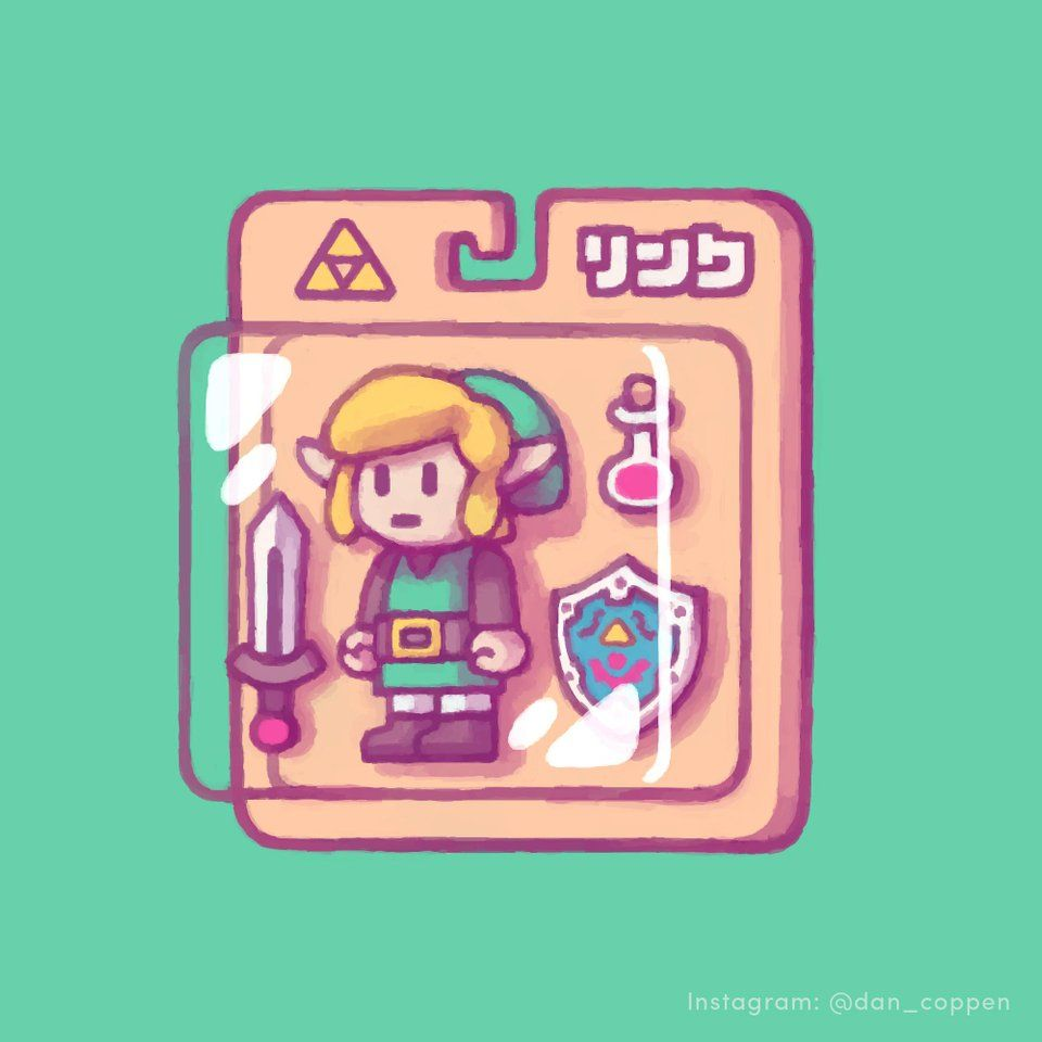Looking forward to playing Link's Awakening for th