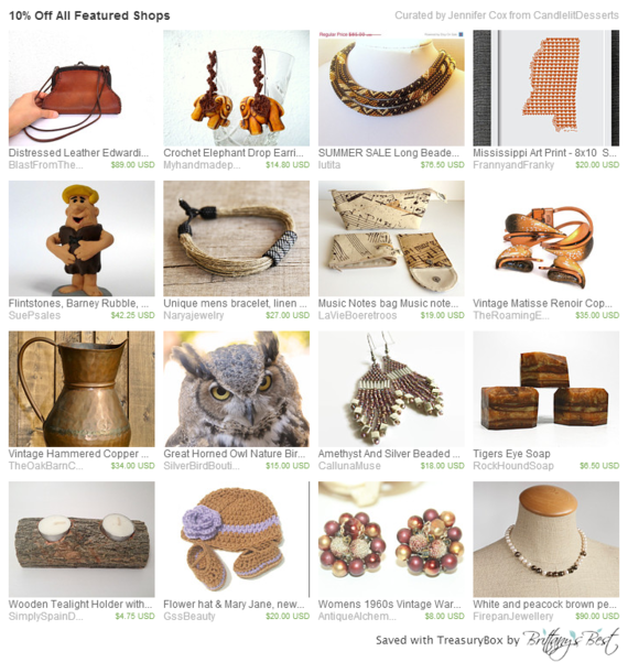 10% Off All Featured Shops Simply the Best! All shops featured have 10% off! Use coupon code STBSELL at checkout. Now through Friday ONLY!!! Contact the shop owner with any questions or for additional details https://www.etsy.com/treasury/MjY5MzY1ODh8MjcyMzczMTk1Mw/10-off-all-featured-shops
