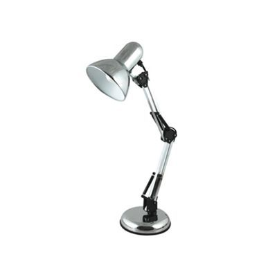 Litecraft Polished Chrome Hobby Desk Lamp At Debenhams Com Desk