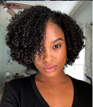 Short Curly Lace Front Wigs With Baby Hair Glueless Full Lace Wigs Pre Plucked Hairl Short Natural Hair Styles Curly Human Hair Wig Curly Hair Styles Naturally