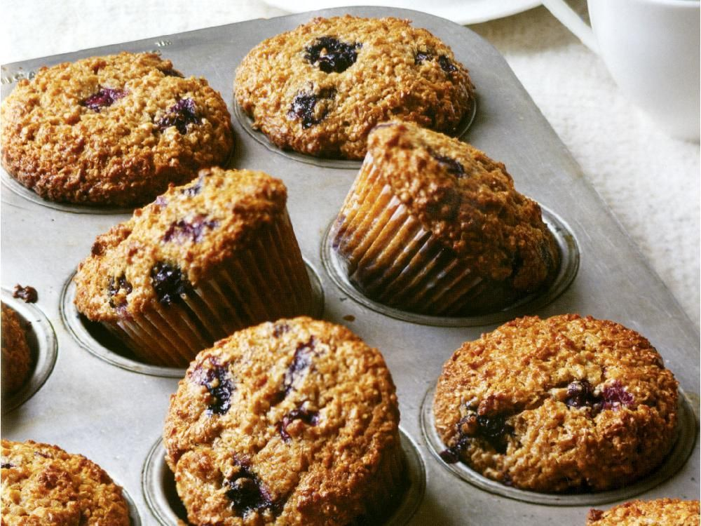Make the batter for these muffins the night before, then bake them in the morning for an easy, delicious start to the day.