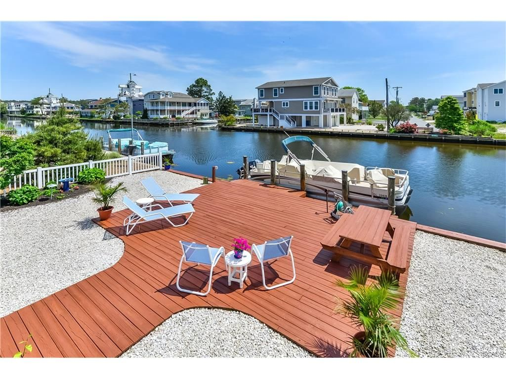 62 S. Anchorage Ave South Bethany Beach DE - This waterfront home with exceptional sun deck is for sale in Bethany Beach DE