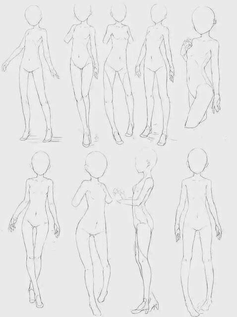 How To Draw A Manga Child Body Drawing Body Poses Drawing Reference Poses Body Sketches