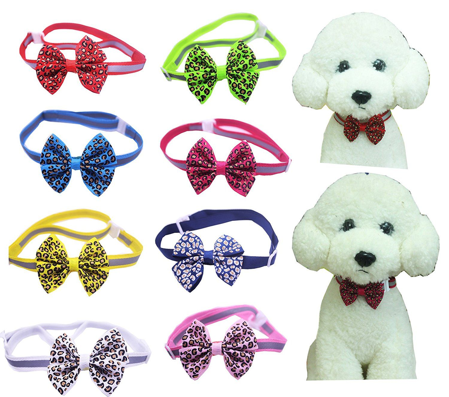 Yagopet pcspack pet dog bow tie for small dogs dog neckties