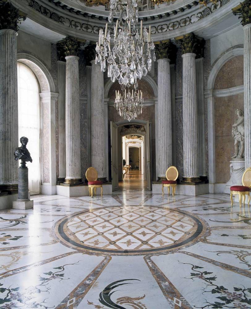 Schloss Sanssouci Marmorsaal Stiftung Preußische Schlösser Und