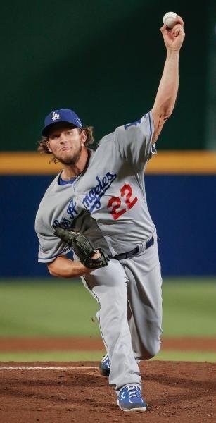 Clayton Kershaw 22 La Dodgers Dodgers Dodgers Nation Baseball Pitcher