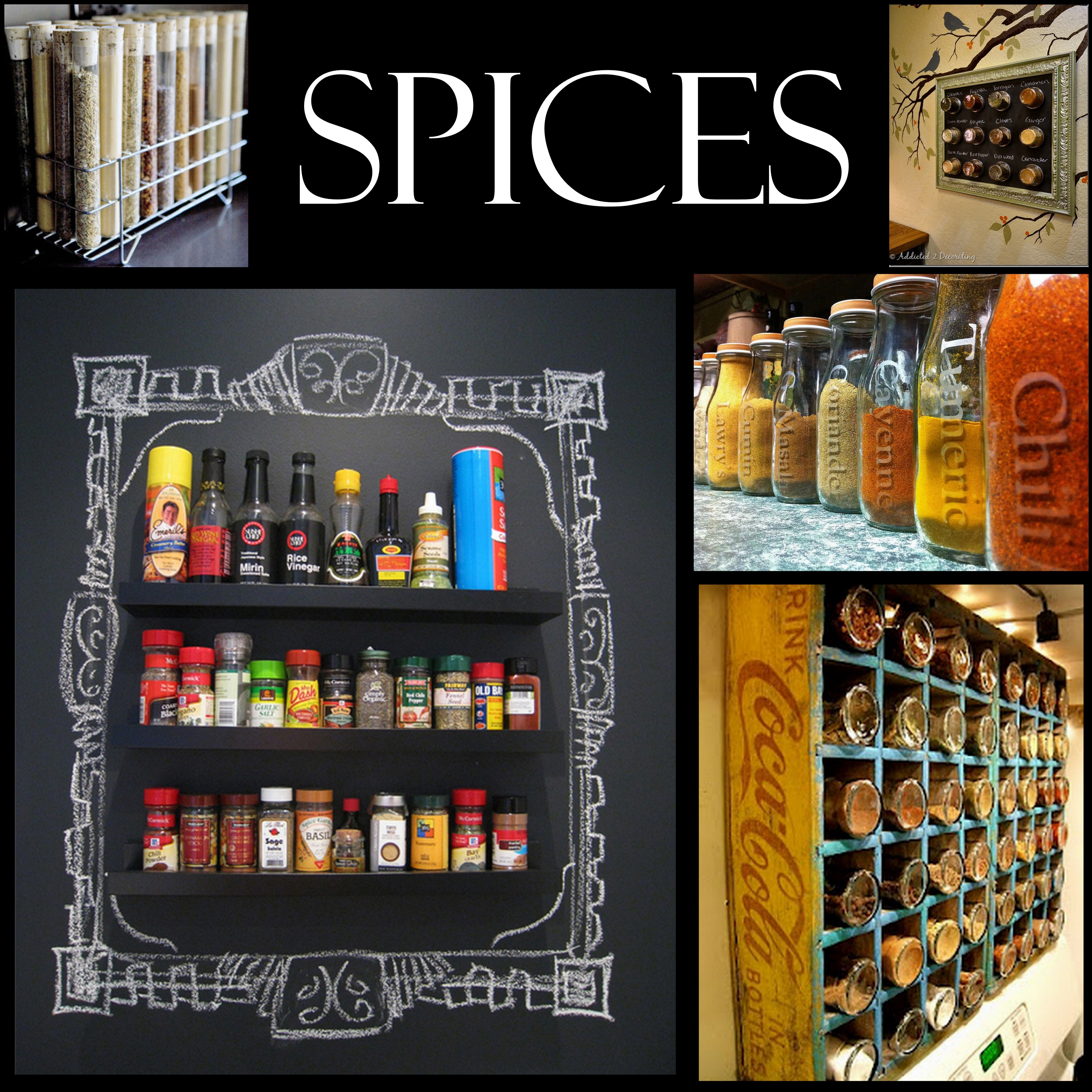 Spice Storage And Organizing Inspiration