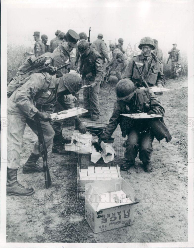 1964 S Korea Demilitarized Zone Us Soldiers Press Photo Korean War Vietnam History Vietnam War